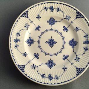 "Johnson Brothers ""Denmark"" Blue Pottery"