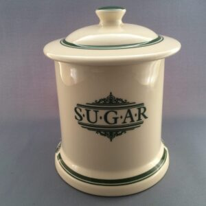 """Brands """"The 1869 Victorian Pottery Green""""."""