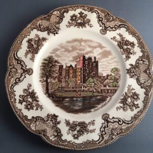 """Johnson Brothers """"Old Britain Castles"""" Brown"""