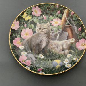 Franklin Mint Royal Doulton Cats.