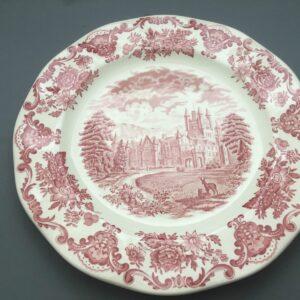 """Wedgwood """"Royal Homes of Britain"""" Pink"""