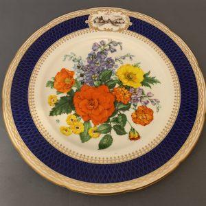 Chelsea Flower Show Plate